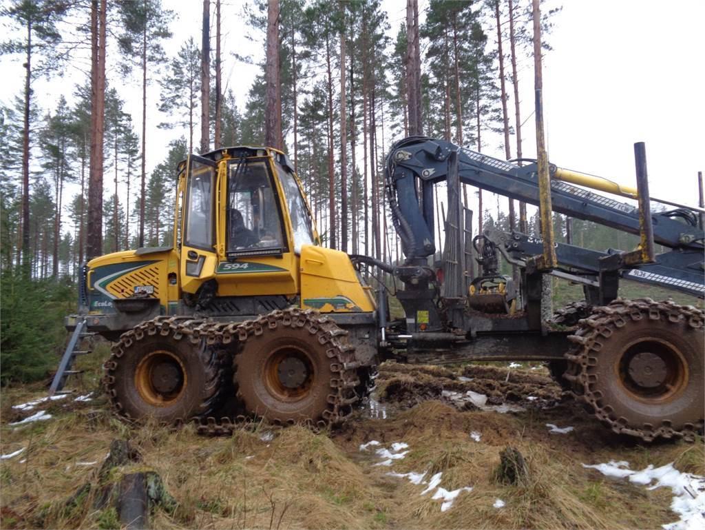 Eco Log 594E, Skotare, Skogsmaskiner