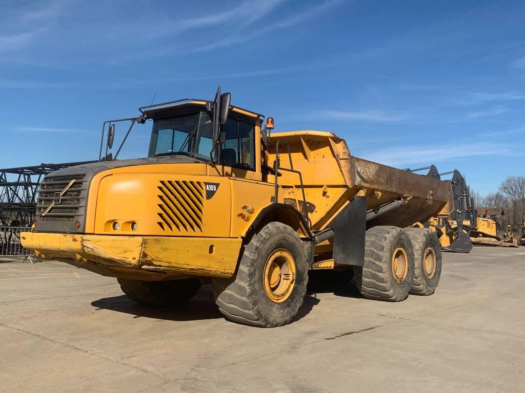 Volvo A30 D, Articulated Dump Trucks (ADTs), Construction
