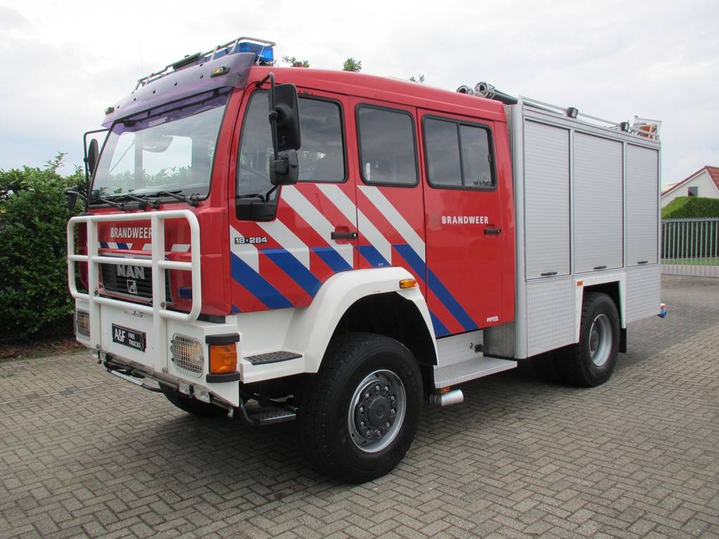 MAN 18-284 Godiva 4x4, Fire trucks, Transportation