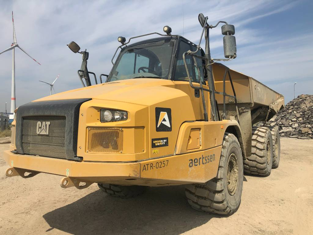 Caterpillar 730 C, Articulated Dump Trucks (ADTs), Construction