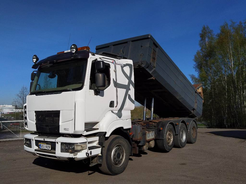 Sisu R500 8x4, Tipper trucks, Transportation