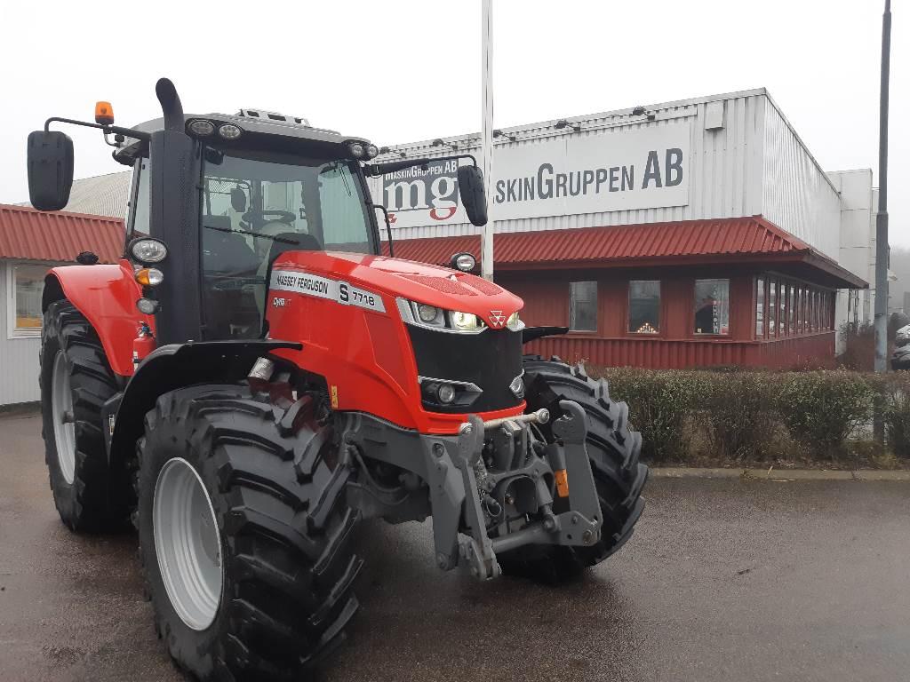 Massey Ferguson 7718S, Traktorer, Lantbruk