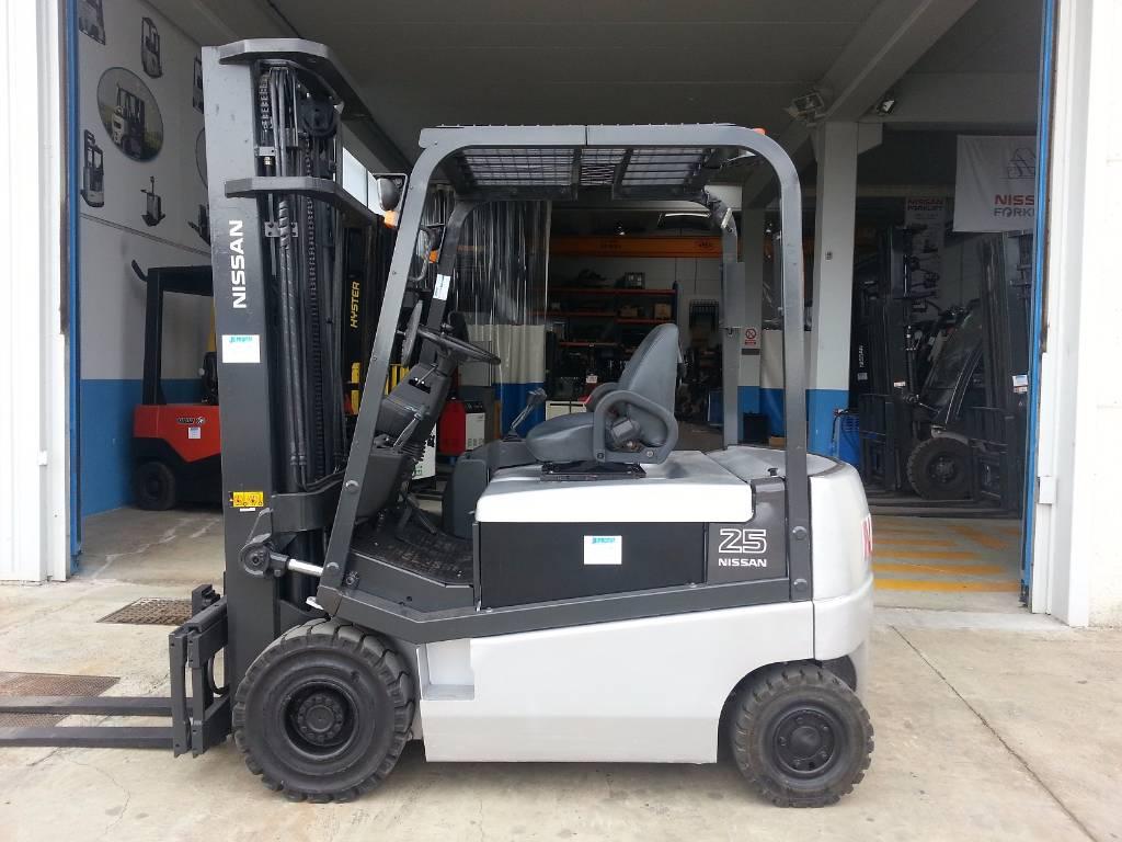 Nissan Q02L25CU, Carretillas eléctricas, Almacenaje
