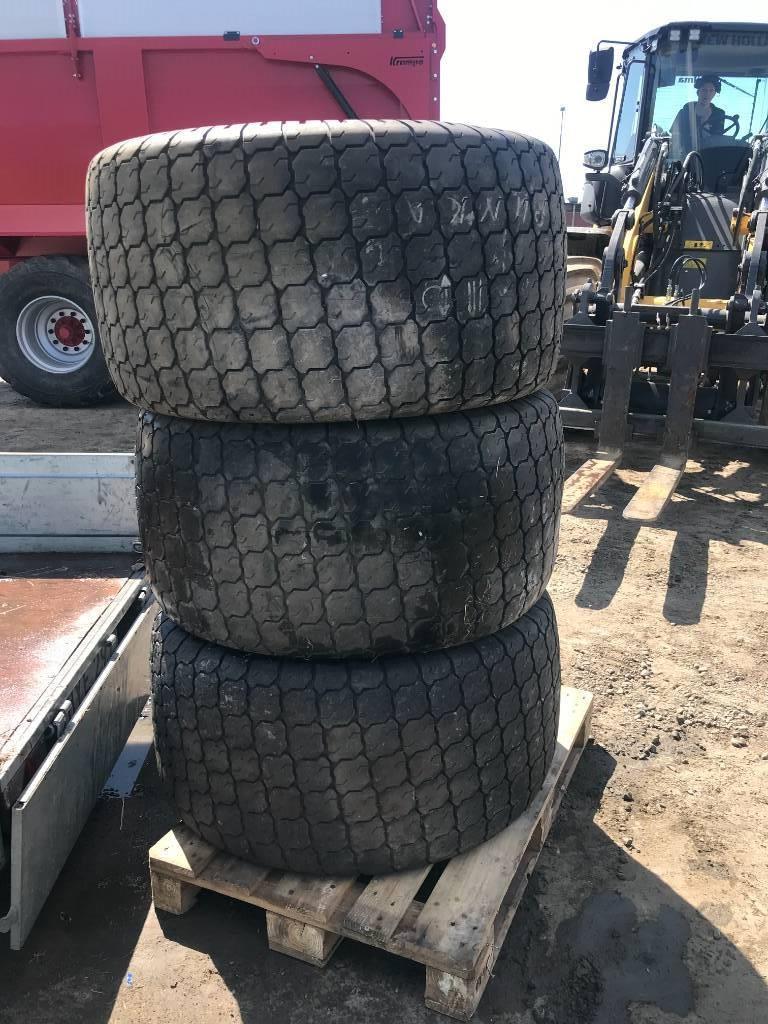 Turfhjul till kompakttraktor, 4 kmpl, Övriga traktortillbehör, Lantbruk