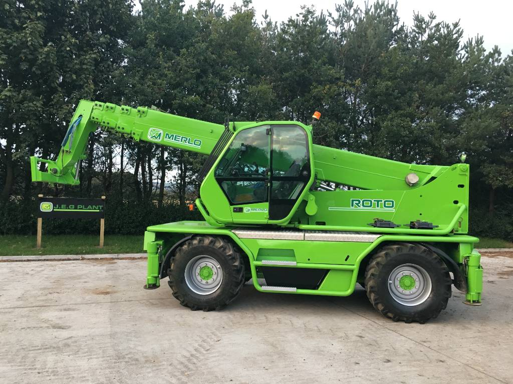 Merlo Roto 40.25 M CS S, Telescopic handlers, Construction