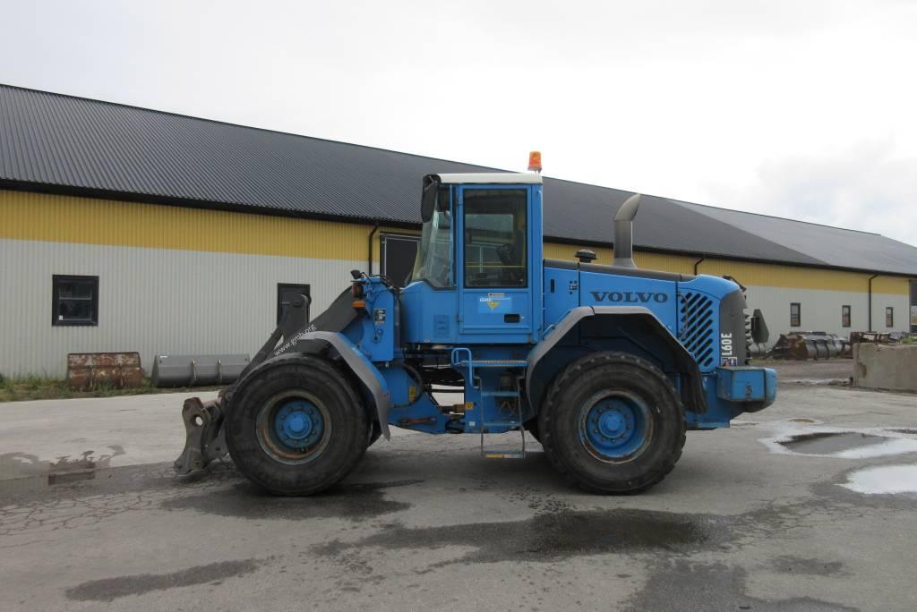 Volvo L60E lastmaskin, all utrustning, Hjullastare, Entreprenad