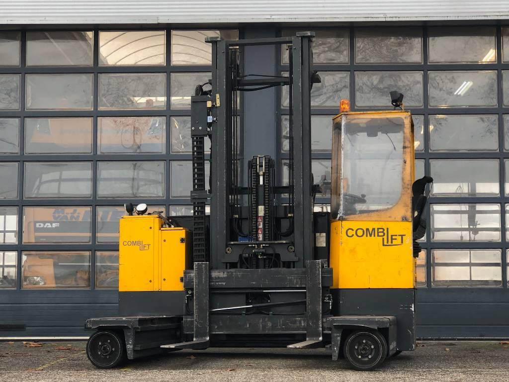 Combilift ESL50, Four-way truck, Laden en lossen