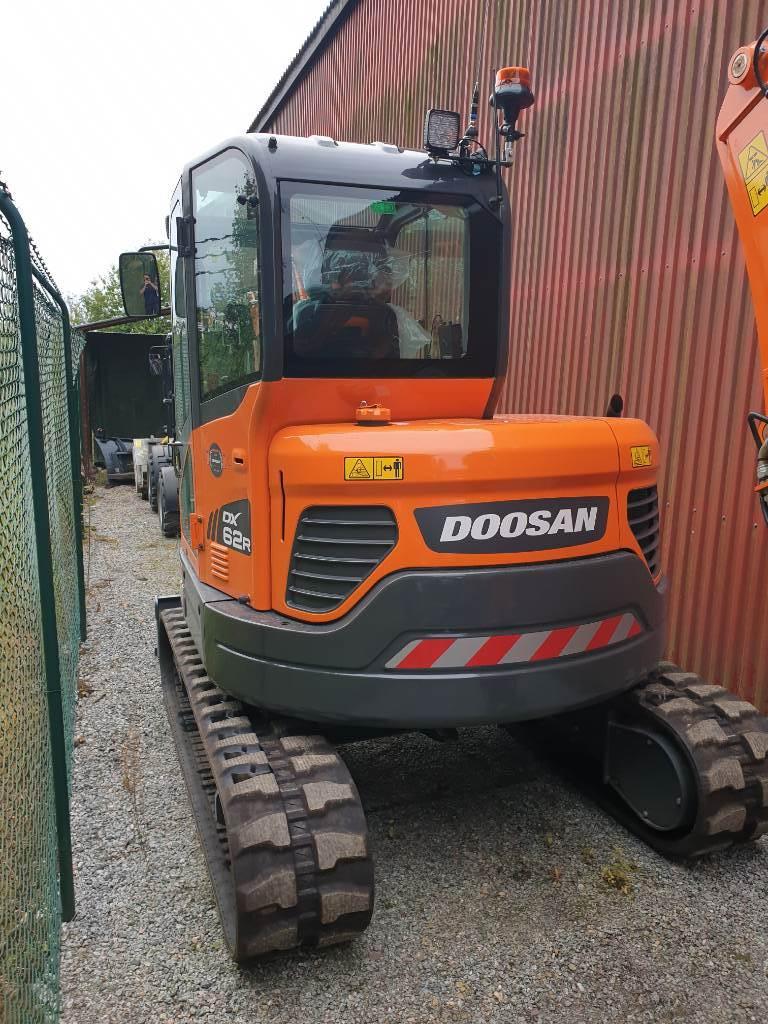 Doosan DX 62 R, Uthyres, Minigrävare < 7t, Entreprenad