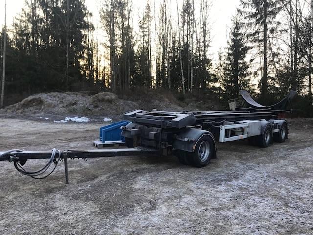 Jyki 3 axl med tipp, Lastväxlarsläp, Transportfordon