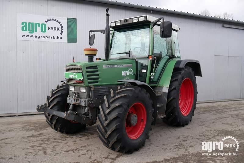 Fendt Favorit 509C (10683 hours), Front axle suspension