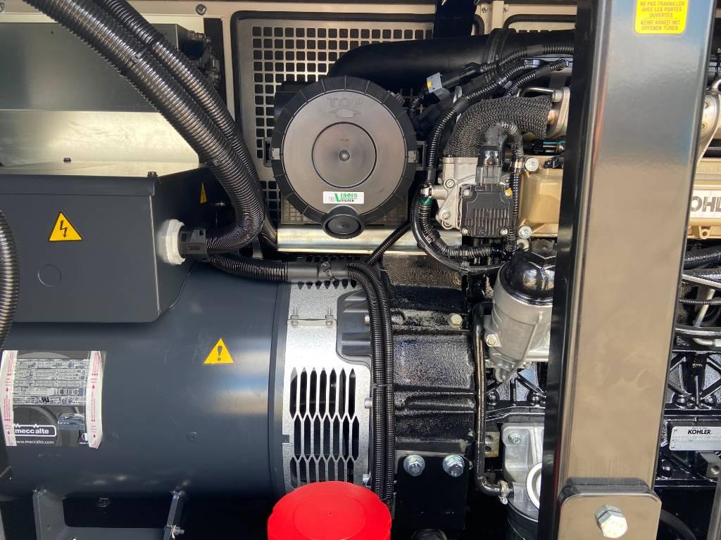 Kohler KDI1903T - 37 kVA Stage V - DPX-19004, Diesel generatoren, Bouw