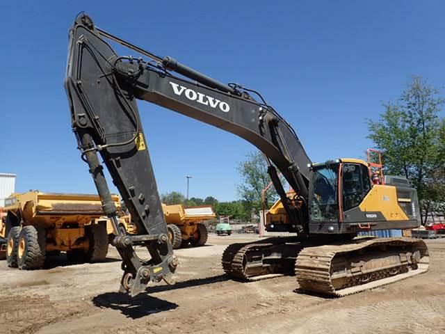 Volvo EC480EL - Crawler Excavators - Construction Equipment