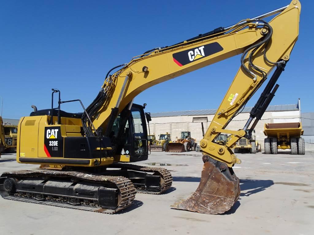 Caterpillar 320 EL RR, Excavadoras de cadenas, Construcción