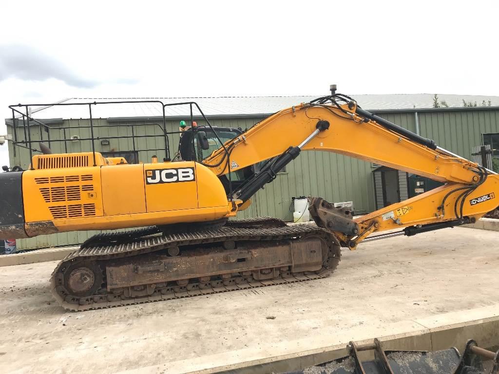 JCB JS 370 LC, Crawler excavators, Construction