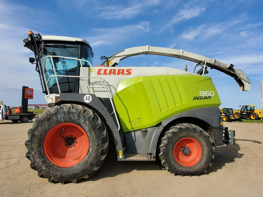 Claas 960, Forage harvesters, Agriculture