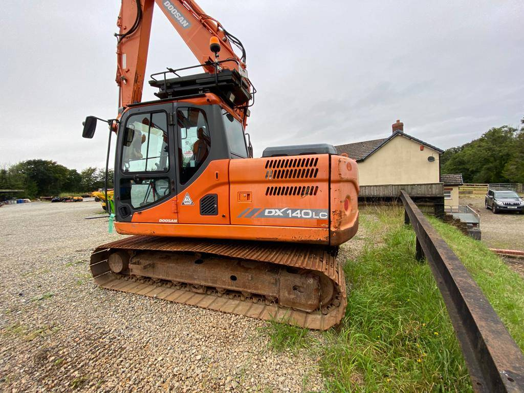 Doosan DX 140 LCR, Crawler Excavators, Construction Equipment