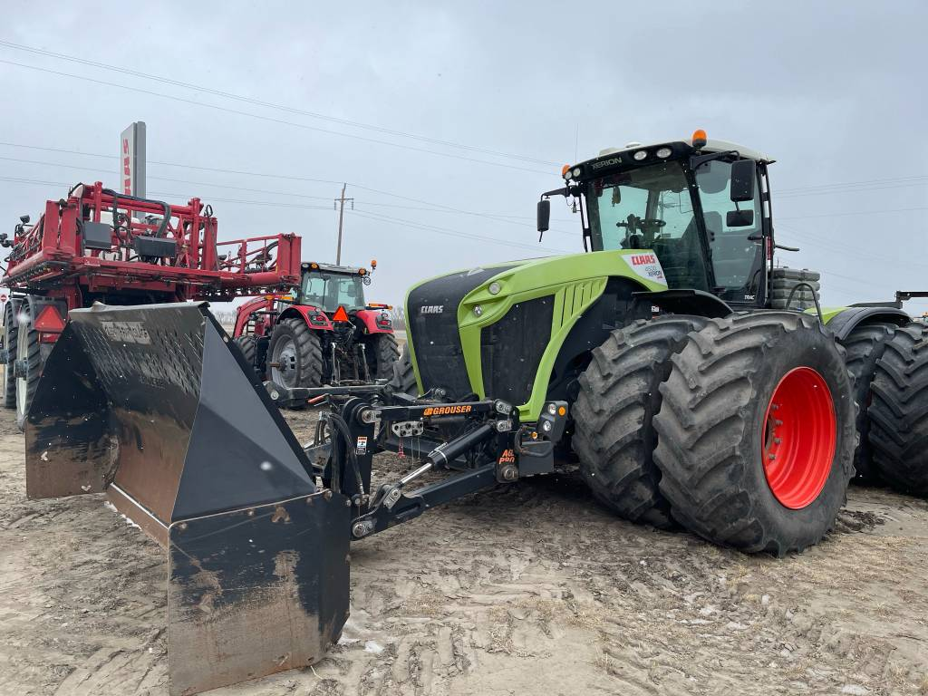 CLAAS Xerion 4500, Tractors, Agriculture