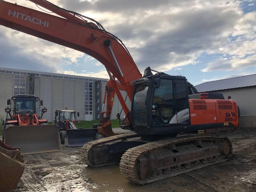Hitachi ZX350LC-5, Crawler Excavators, Construction Equipment