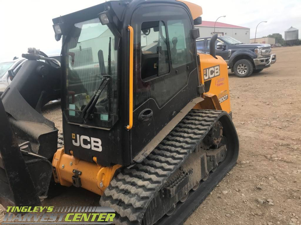 JCB 300T, Skid Steer Loaders, Construction