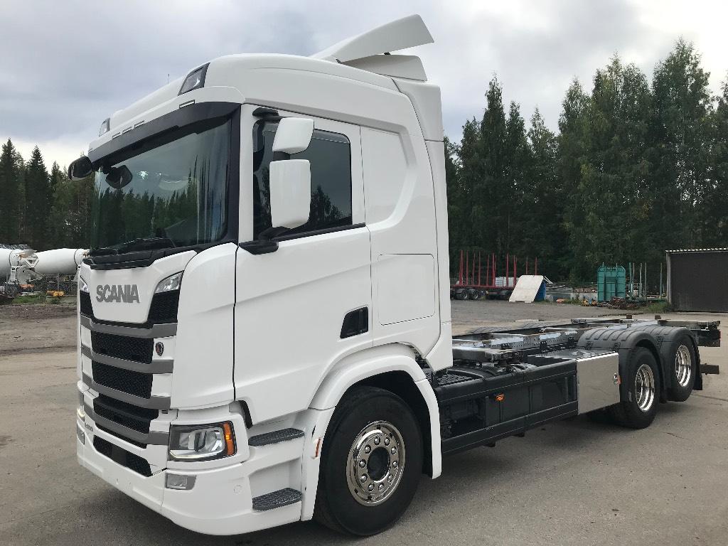 Scania R500 Next Generation 6x2 wb 4750mm, Kontti-/tasonostoautot, Kuljetuskalusto