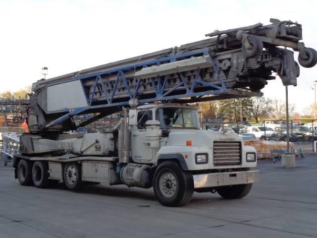 Putzmeister TB 105-18, Telescopic Handlers, Construction Equipment