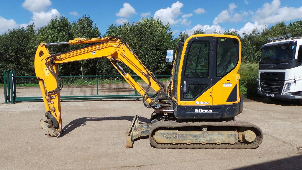 Hyundai Robex 60 CR-9, Mini excavators < 7t (Mini diggers), Construction