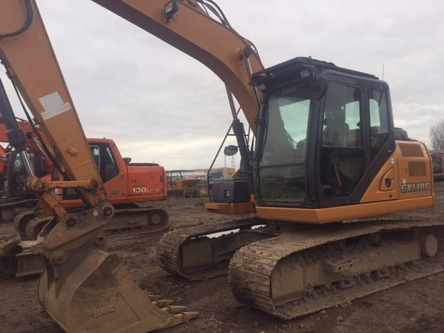 CASE CX 130, Crawler excavators, Construction