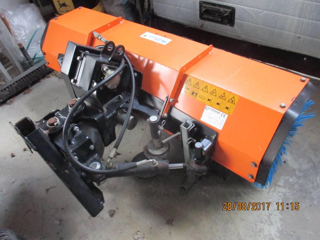 Hydromann 1300 fejemaskine, Andet udstyr til vej- og snerydning, Landbrug