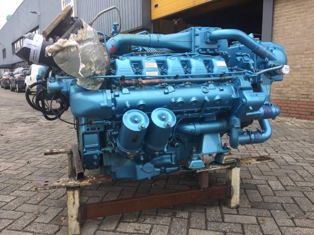 MAN D2840 LE - Marine Propulsion - 467 kW, Marine Applications, Construction