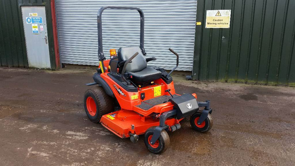 Kubota ZD 326 S, Riding mowers, Groundcare