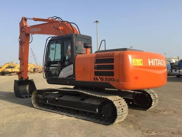 Hitachi ZX 220LC - GI (2 pieces), Crawler excavators, Construction