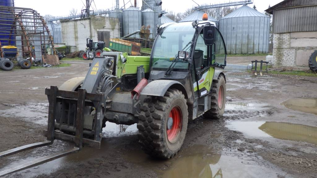 CLAAS Scorpion 741 VP, Telehandlers for agriculture, Agriculture