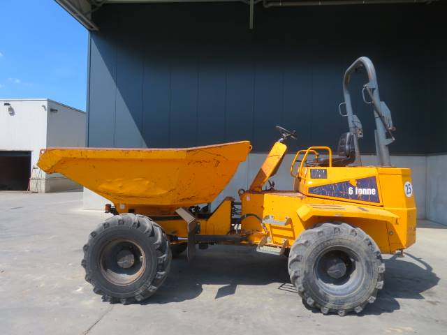Thwaites 6 tonne (swivel), Mini Dumpers, Bouw