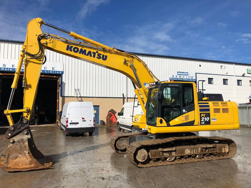 Komatsu PC210LC-11, Crawler Excavators, Construction Equipment