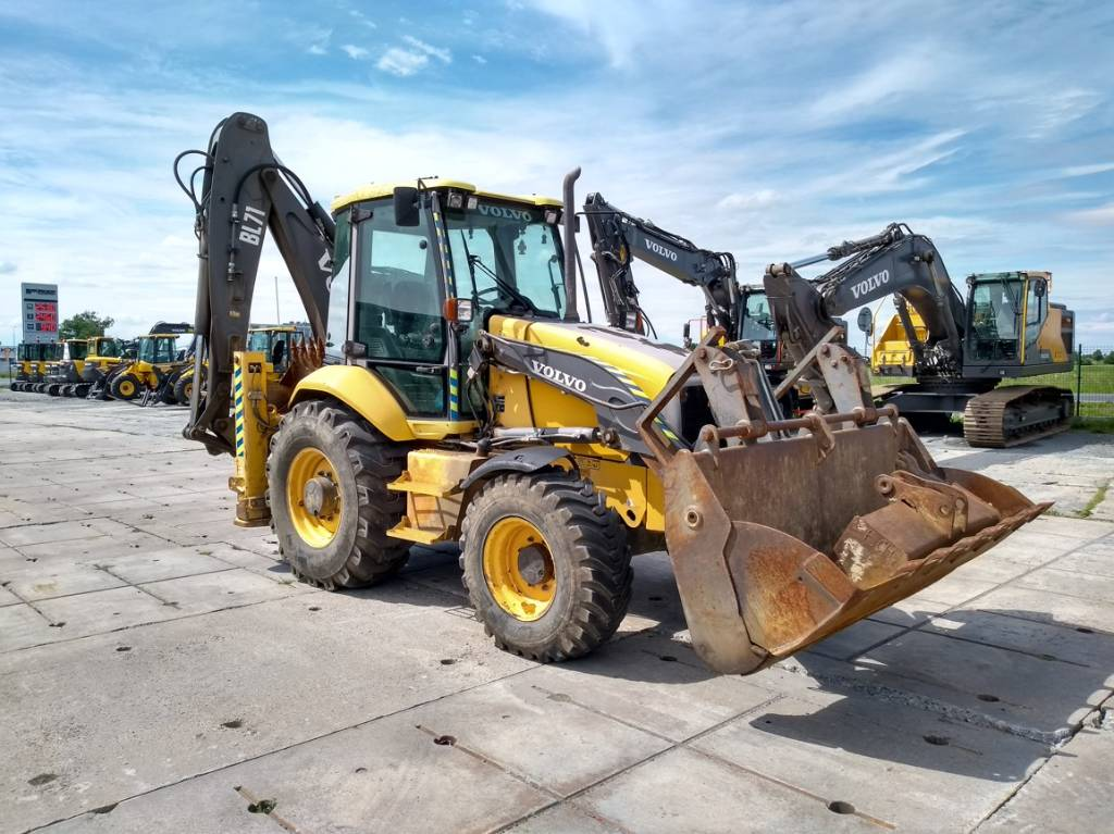 Volvo BL71, Backhoe Loaders, Construction Equipment