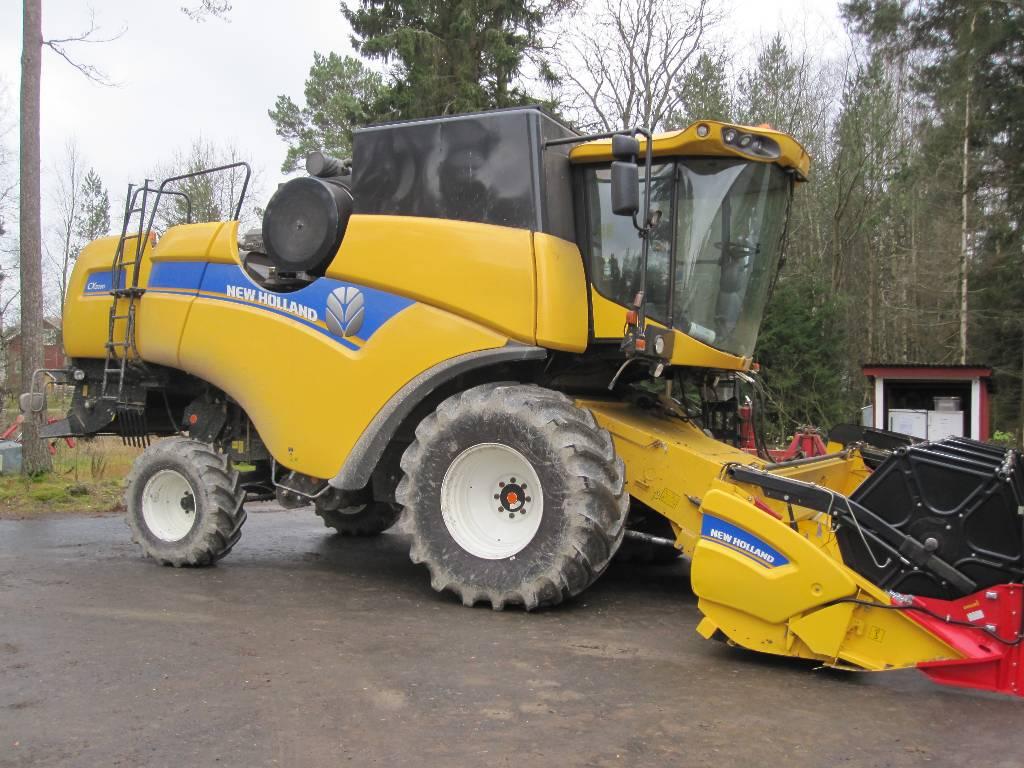 New Holland CX 5080, Leikkuupuimurit, Maatalous