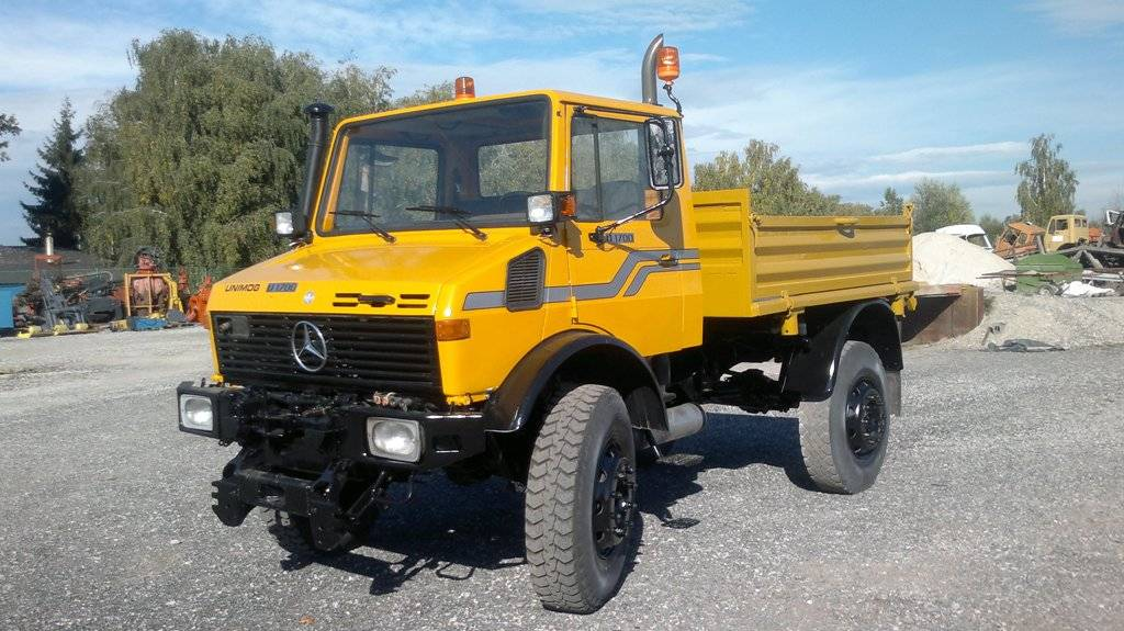 Unimog U1700, Kiper kamioni, Transport