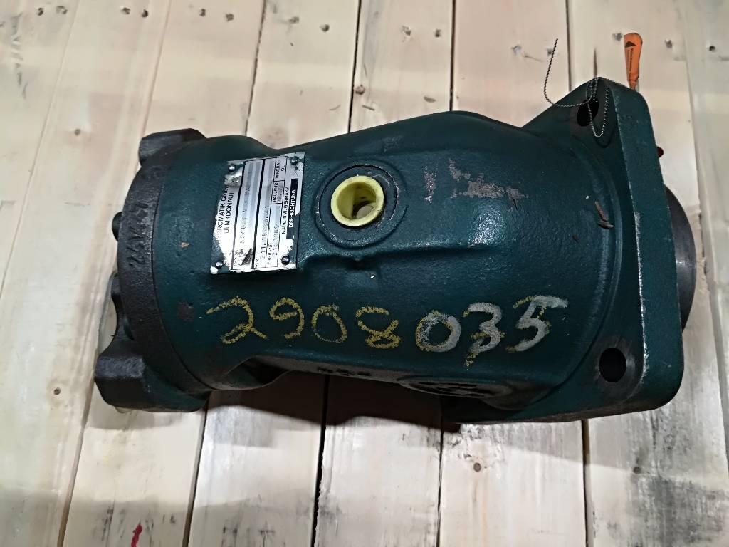 Lännen T-221,M-216,M-219 Käännön hydraulimoottori, Hydrauliikka, Maarakennus
