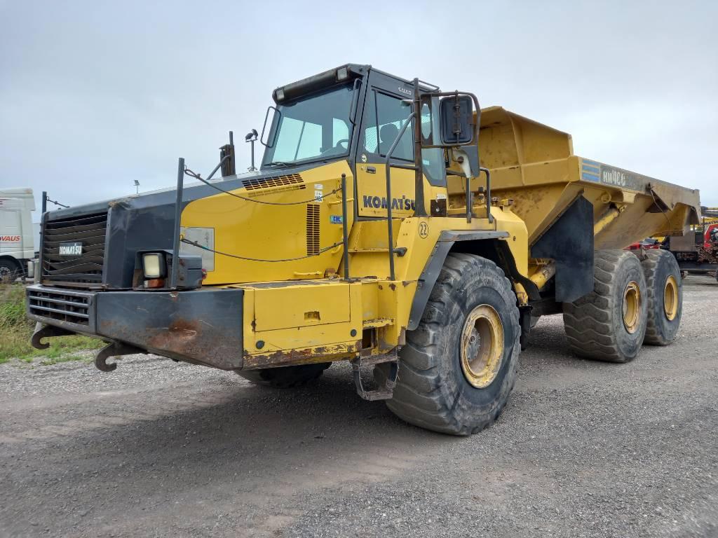 Komatsu HM400-2, Articulated dump trucks, Construction Equipment