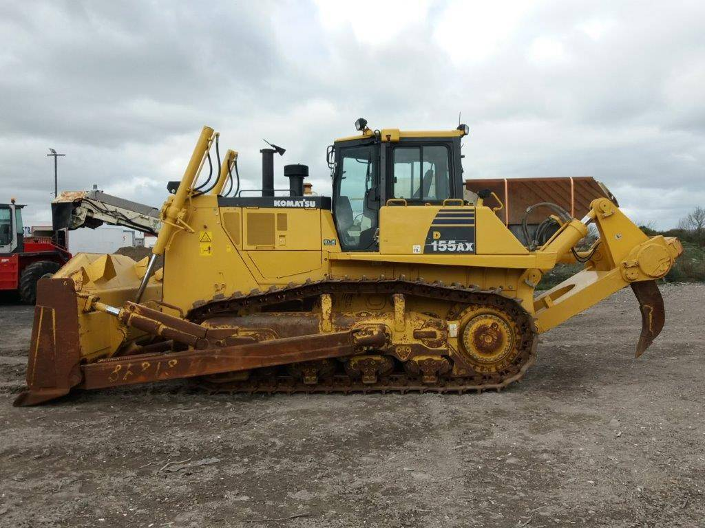Komatsu D155AX-6, Crawler dozers, Construction Equipment