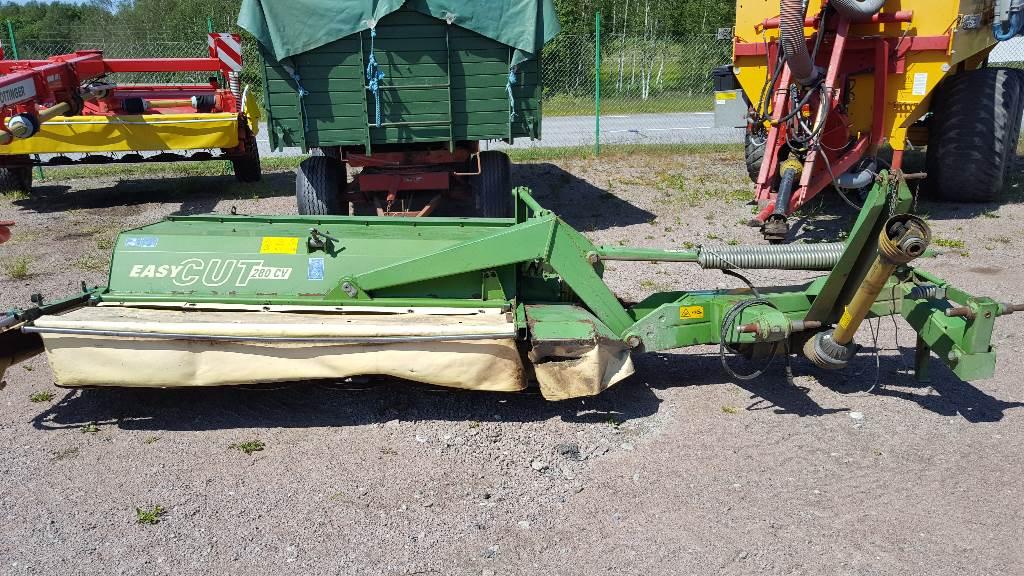 Krone Easy Cut 280 CV, Slåtterkrossar, Lantbruk