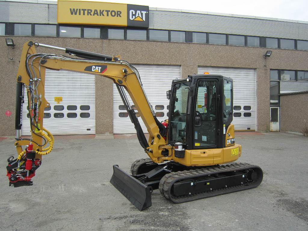 Caterpillar 305.5 E2, Mini excavators < 7t (Mini diggers), Construction