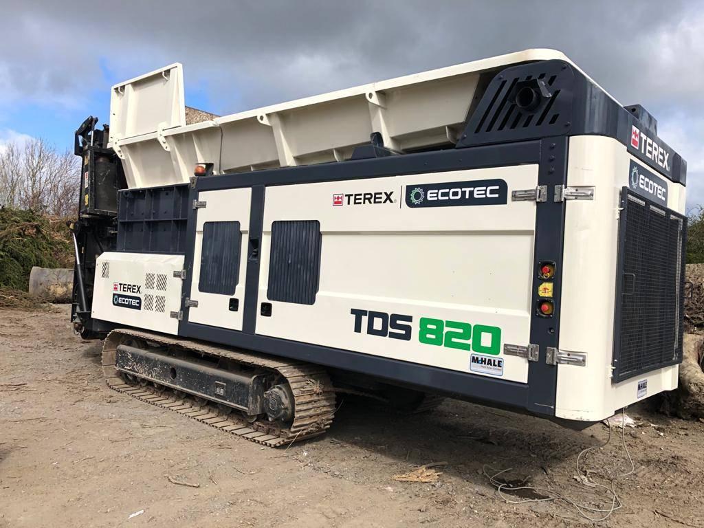 Terex Ecotec TDS820, Waste Shredders, Construction Equipment