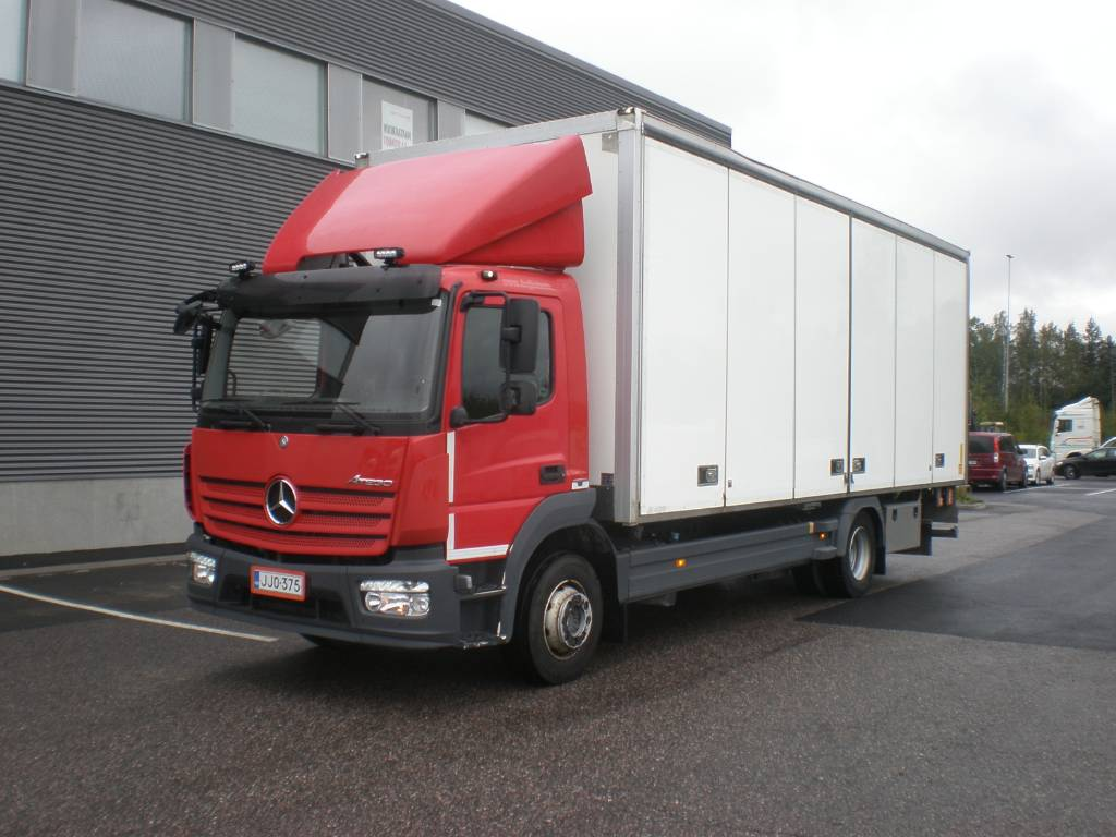 Mercedes-Benz Atego 1324 / 375, Box trucks, Trucks and Trailers