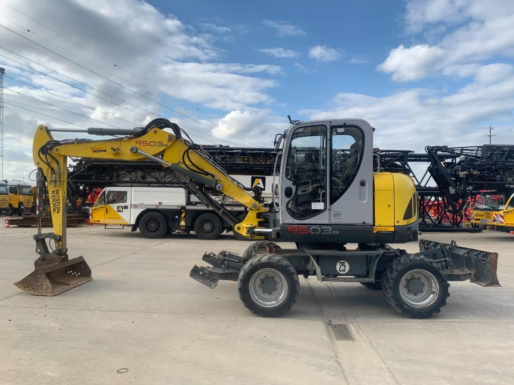 Wacker Neuson 9503 WD, Wheeled excavators, Construction