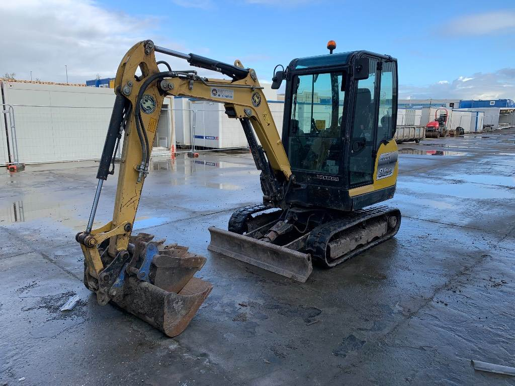 Yanmar SV26, Mini excavators < 7t (Mini diggers), Construction