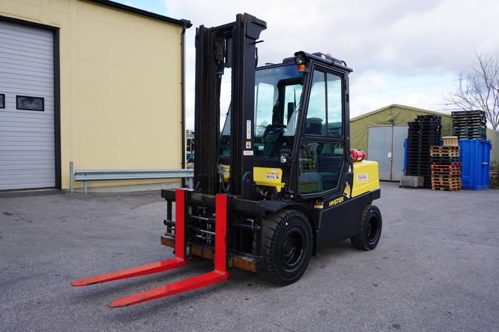 Hyster H 5.0 FT, Diesel counterbalance Forklifts, Material Handling