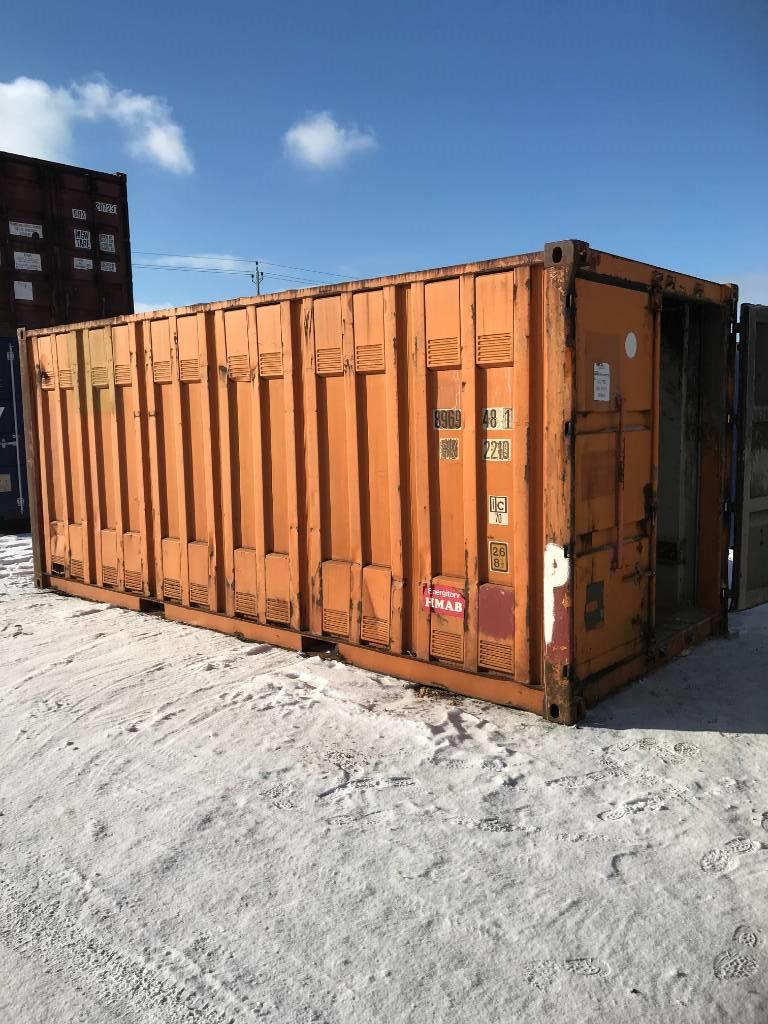 [Other] Sjöcontainer 20 fot, Sjöcontainers, Transportfordon