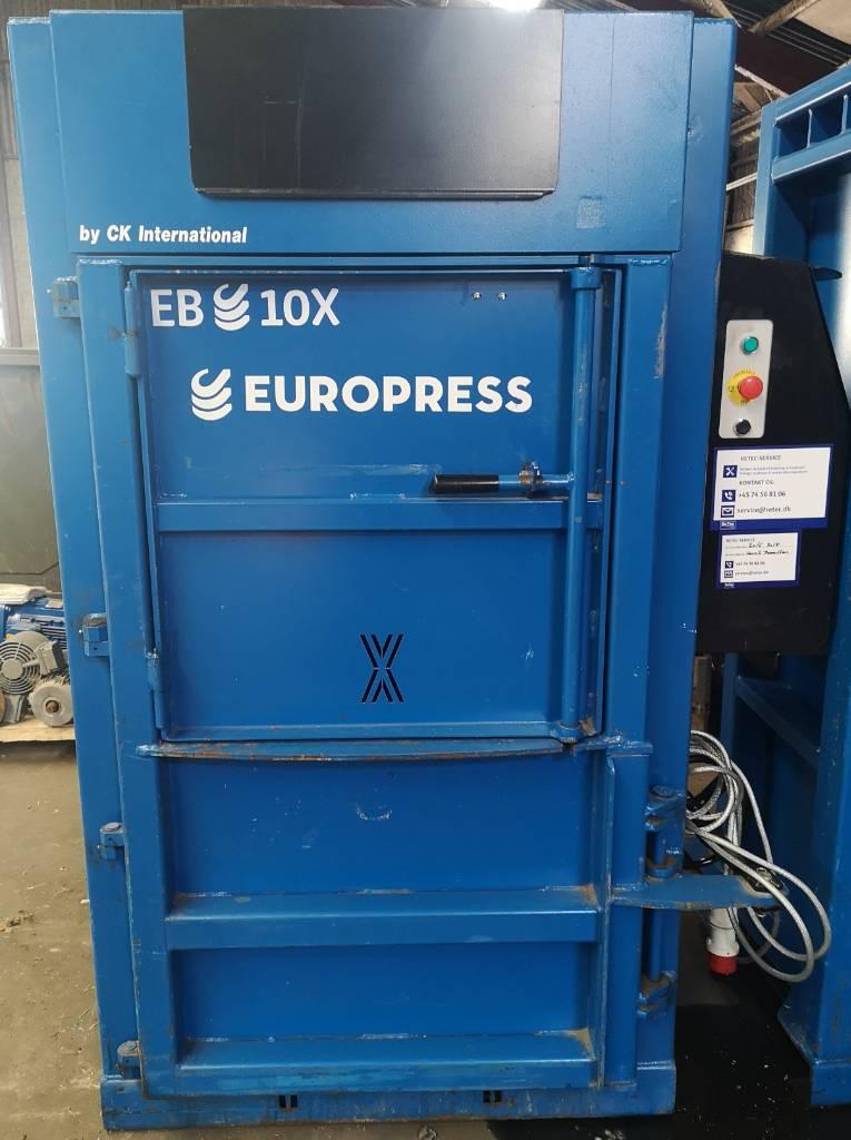 Europress EB10X, Balpressar, Entreprenad
