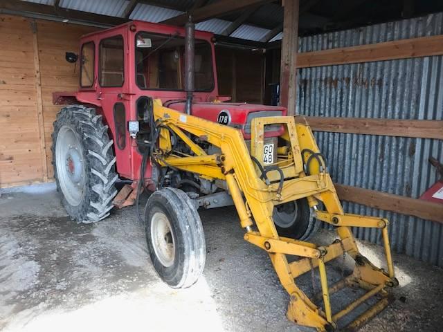 Massey Ferguson 178 MED LASTARE, Traktorer, Lantbruk